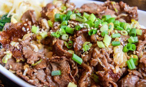 湯河原は肉メシも美味い!焼肉屋さんの贅沢ランチ