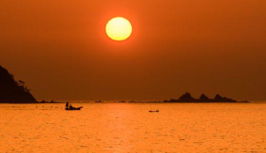 早起きが楽しい湯河原ライフ♪朝焼けから日の出の時間は絶景タイム!